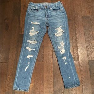 American eagle mom jeans, us size 2